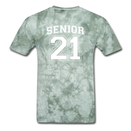 Senior 21 grad class logo - Men's T-Shirt