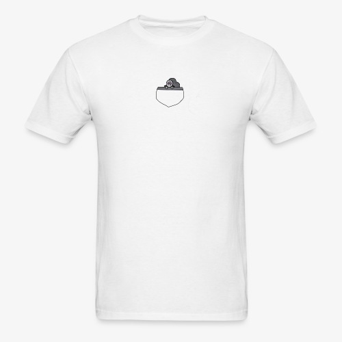 Gray Pocket Buddy - Men's T-Shirt