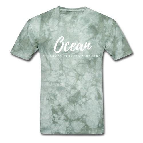Discover Florida's Oceans - Men's T-Shirt