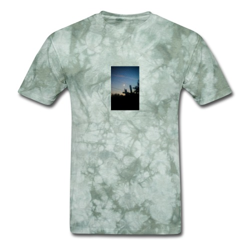Pieced moon - Men's T-Shirt