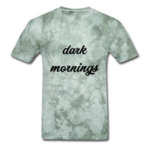 Dark Mornings Logo - Men's T-Shirt