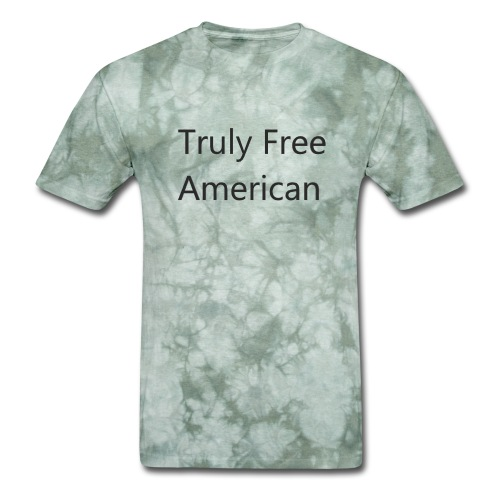 Truly Free American design1 - Men's T-Shirt