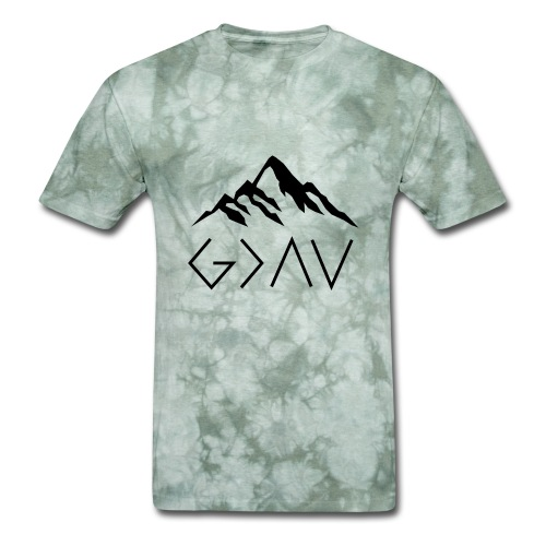 God Is Greater Than The Highs And Lows - Men's T-Shirt