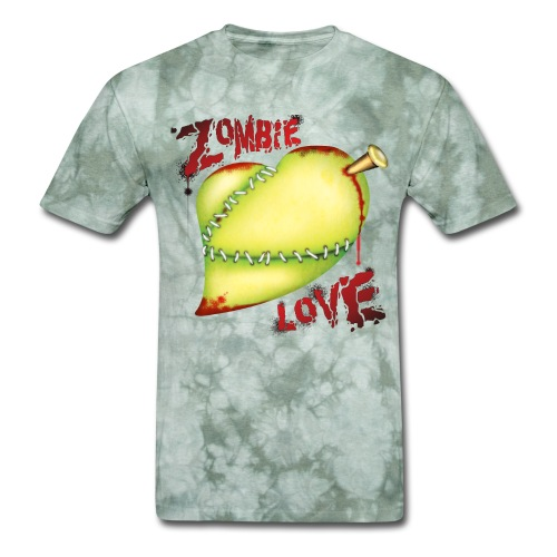 Zombie Love T Shirt - Men's T-Shirt