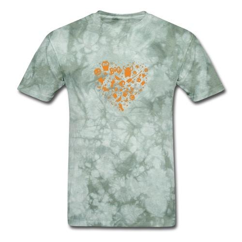 Halloween Funny skull zombie pumpkin Tshirt 18 - Men's T-Shirt