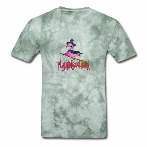 Halloween Funny skull zombie pumpkin Tee shirt - Men's T-Shirt