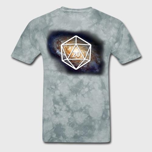 Geek Galaxy d20 - Men's T-Shirt