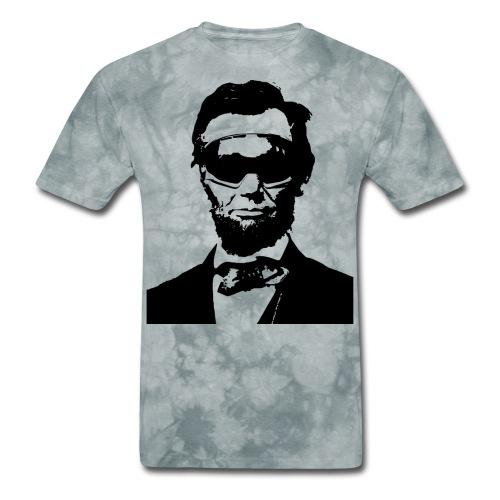 Ski Bum Abe Lincoln - Men's T-Shirt