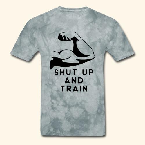 shut up and train! - Men's T-Shirt