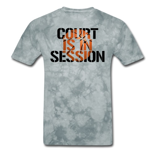 Court is in Session hoops basketball - Men's T-Shirt