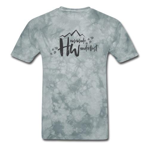 Homemade Wanderlust Black Logo - Men's T-Shirt