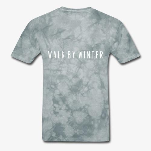 Walk by Winter Logo - Men's T-Shirt