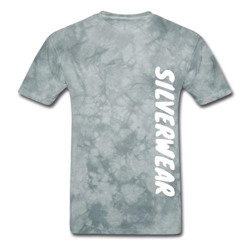 Silverwear vertical text - Men's T-Shirt
