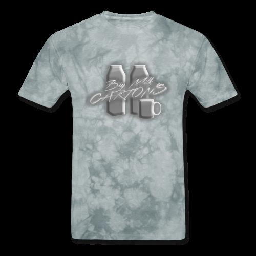 BigMilkCartons Silver Tone Logo - Men's T-Shirt