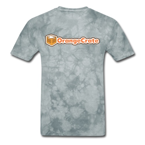 Horizontal OrangeCrate - Men's T-Shirt