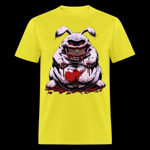 Cute Creepy Bunny Buddy - Men's T-Shirt