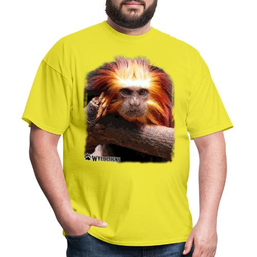 Monkey Cutout - Men's T-Shirt