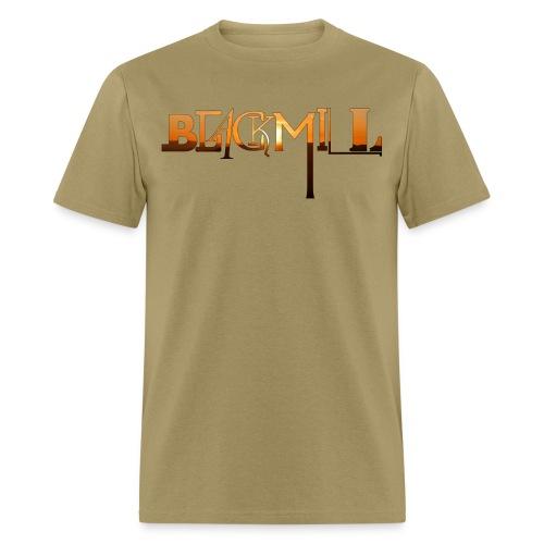 BLACKMILL small Fonts orange - Men's T-Shirt