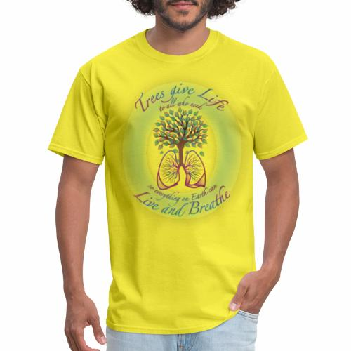 Live and Breathe - Men's T-Shirt