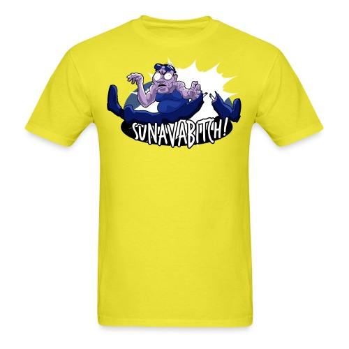 Expendables7Shirt Sunnavabitch png - Men's T-Shirt