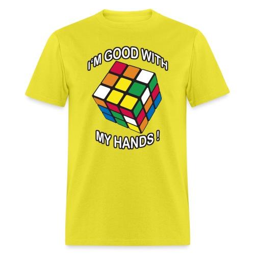 Rubik's Cube Good With My Hands - Men's T-Shirt