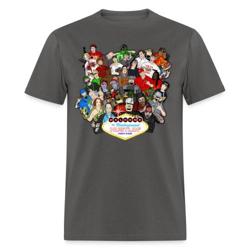 Underground Hustlin 44 cover tee - Men's T-Shirt