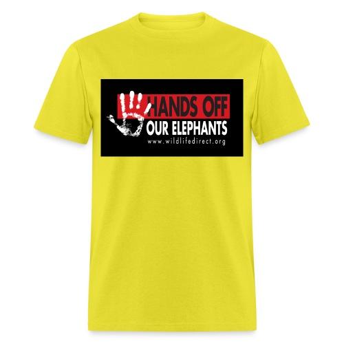 WLD bumperSticker jpeg - Men's T-Shirt