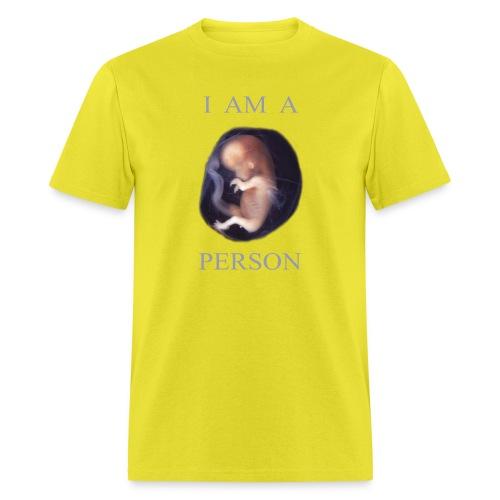 I Am A Person - Men's T-Shirt