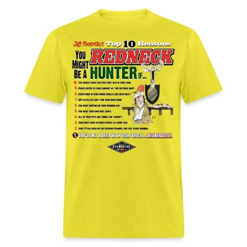 redneck hunter comp01 - Men's T-Shirt