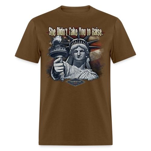 600-1274-Mamma Liberty - Men's T-Shirt
