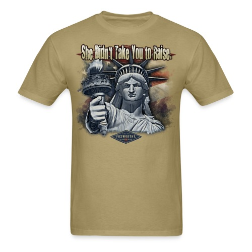 600-1274-Mamma Liberty - Men's T-Shirt