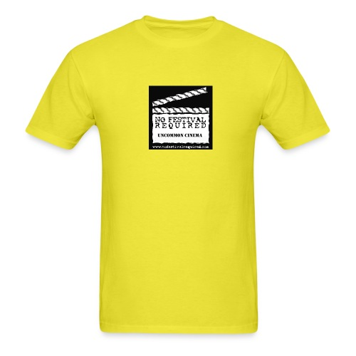 nfrlogofullreverse large 08 - Men's T-Shirt