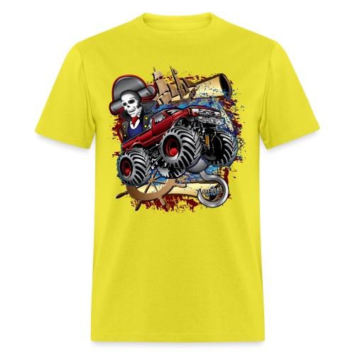 Pirate Monster Truck - Men's T-Shirt