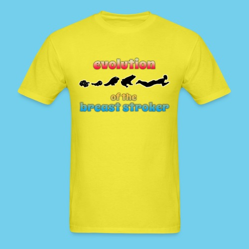 Evolution of BreastStroke - Men's T-Shirt