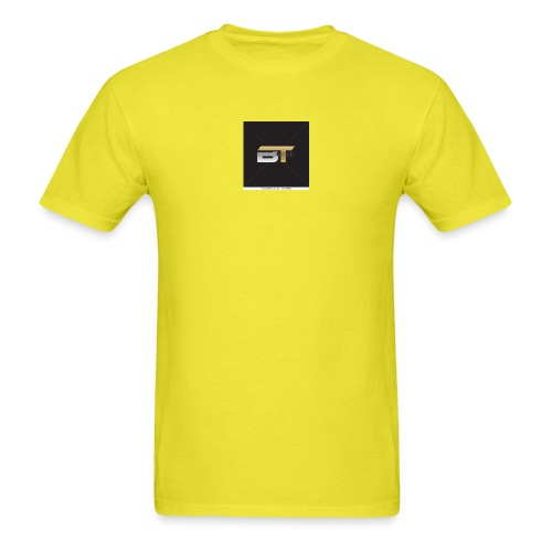 BT logo golden - Men's T-Shirt