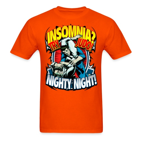 Insomnia Judo Design - Men's T-Shirt