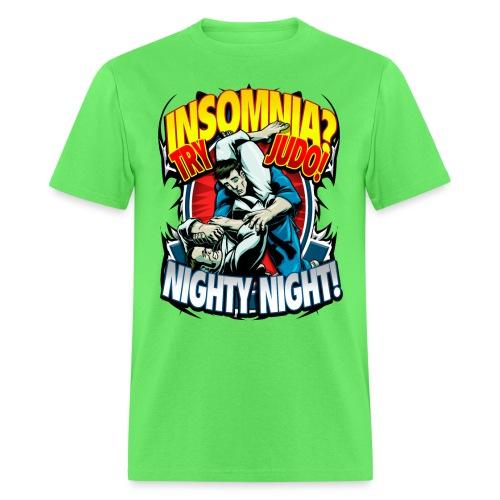 Insomnia Judo Design - Men's T-Shirt