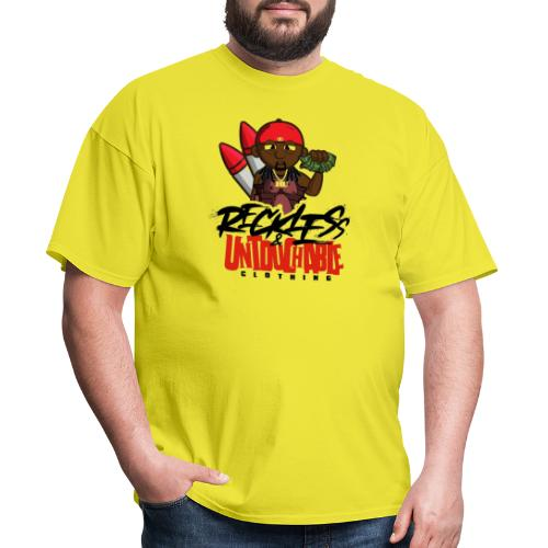 Reckless and Untouchable_1 - Men's T-Shirt