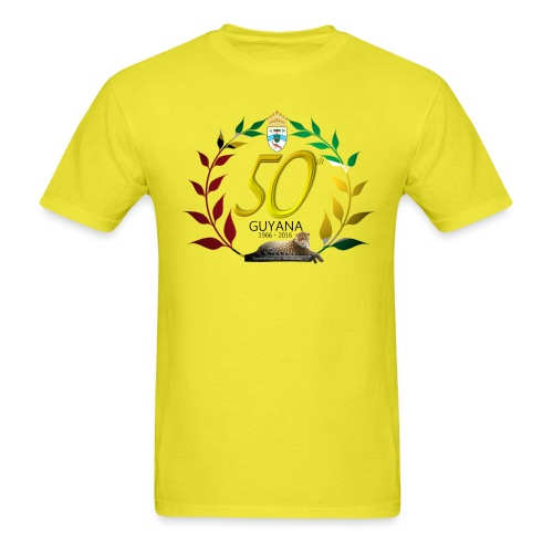 Guyana's 50th - Men's T-Shirt