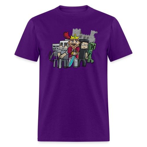 fallenkingdomshirt4 castle tshirts - Men's T-Shirt