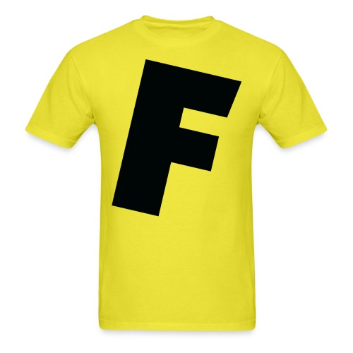 F slanted - Men's T-Shirt