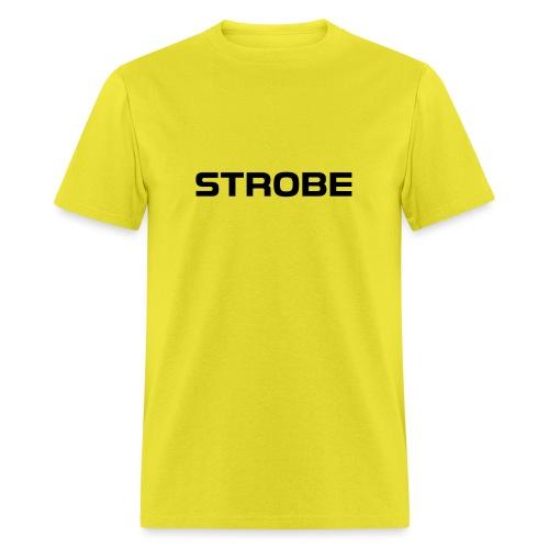 Strobe Black - Men's T-Shirt