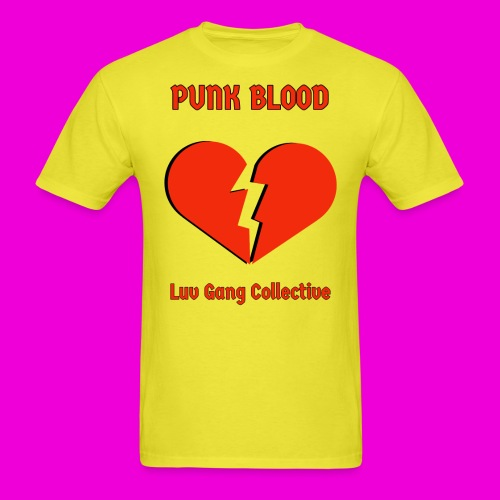 punk blood collective print - Men's T-Shirt