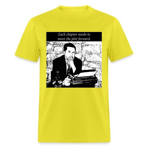 Plot forward! - Men's T-Shirt