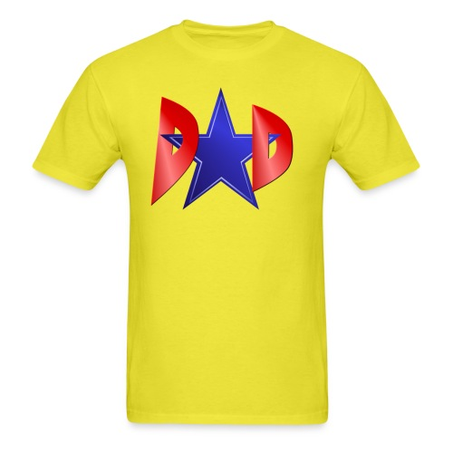 Blue Star Dad - Men's T-Shirt