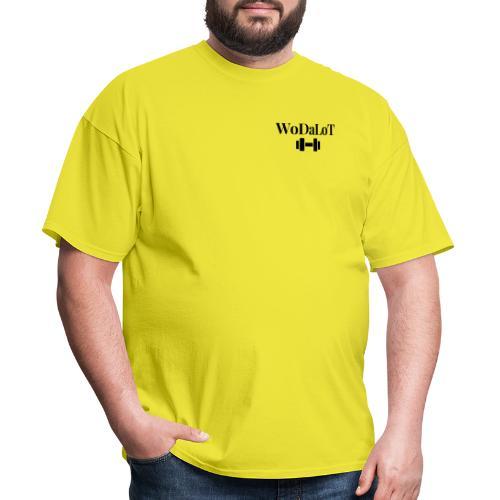 WoDaLoT black logo - Men's T-Shirt