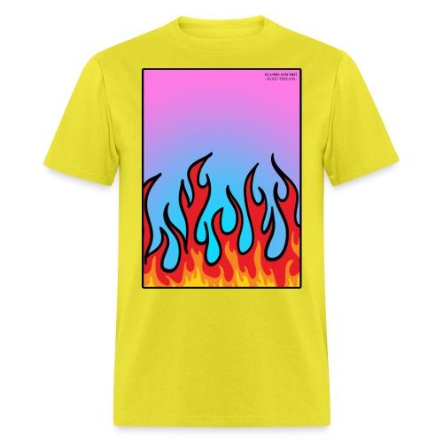 FLAMES 'N' STUFF - Men's T-Shirt