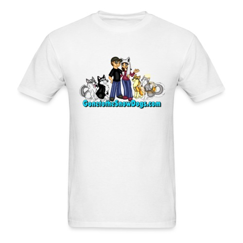 Snow Dogs Vlogs Logo - Men's T-Shirt