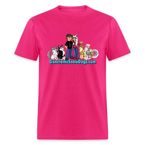 Snow Dogs Vlogs Logo - Men's T-Shirt