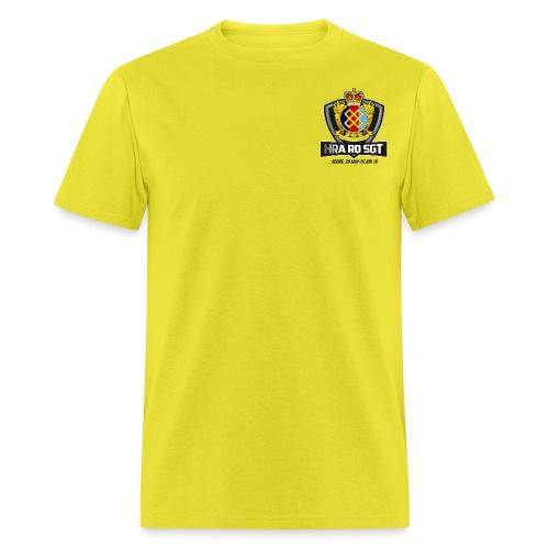 HRA RQ Sgt Dark Text - Men's T-Shirt
